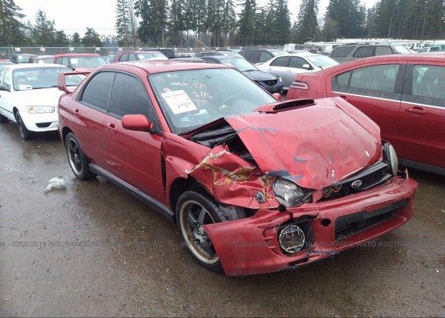 Inventory #659691442 2002 Subaru IMPREZA