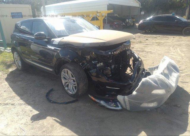 Inventory #328645141 2017 Land Rover RANGE ROVER EVOQU