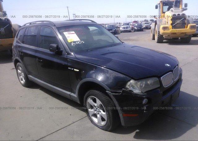 Inventory #738744340 2007 BMW X3