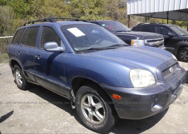 Inventory #130241361 2001 Hyundai SANTA FE