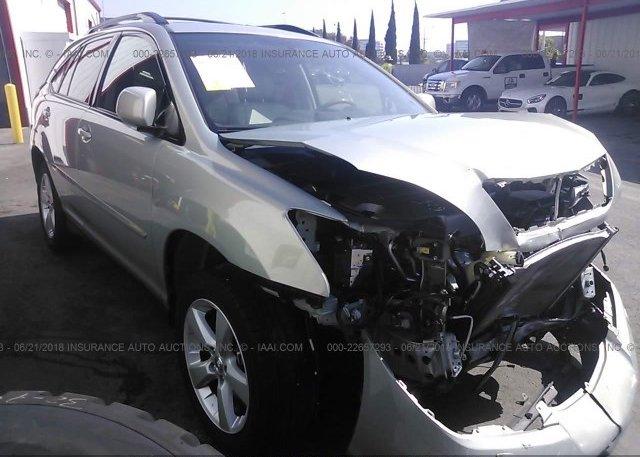Inventory #588606568 2007 Lexus RX