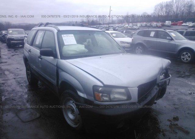 Inventory #595349967 2005 Subaru FORESTER