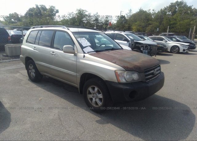 Inventory #711303171 2003 Toyota HIGHLANDER