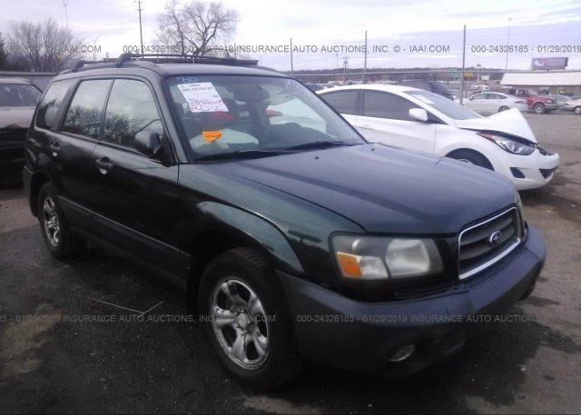 Inventory #853976261 2003 Subaru FORESTER