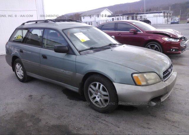 Inventory #699461242 2004 Subaru LEGACY