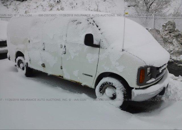 Inventory #372983993 1999 Chevrolet EXPRESS G2500