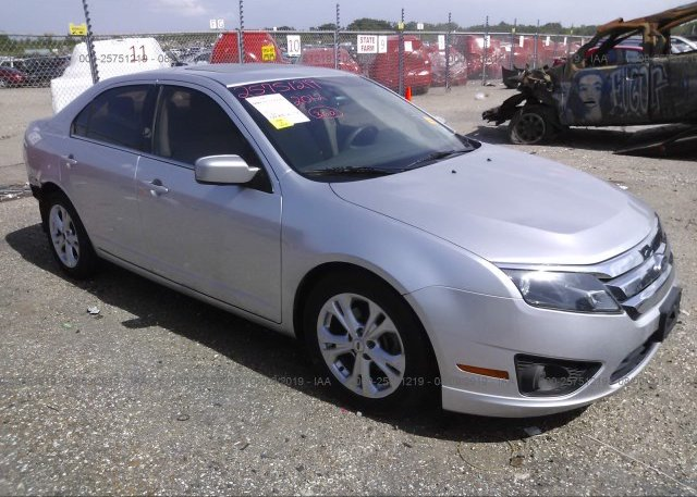 Inventory #609118321 2012 FORD FUSION