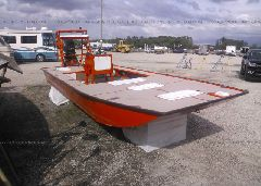 2012 HOMEMADE FLATS BOAT 18' - FLZDH937B212 Left View
