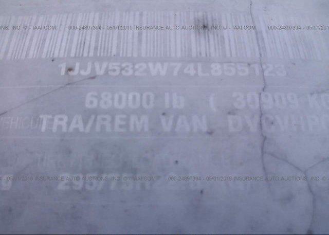 2004 WABASH NATIONAL CORP VAN - 1JJV532W74L855123