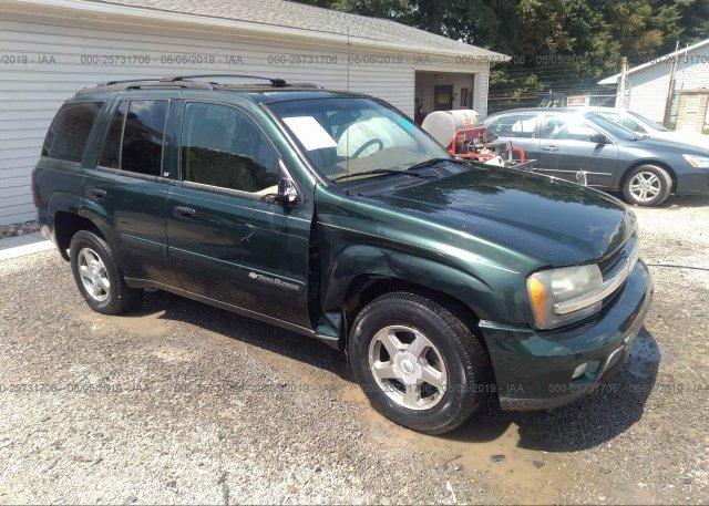 Inventory #602588213 2003 Chevrolet TRAILBLAZER
