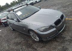 2011 BMW 335 - WBAPN7C53BA950055 Left View