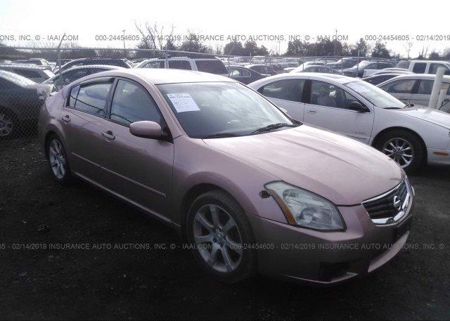 Inventory #457470427 2008 Nissan MAXIMA
