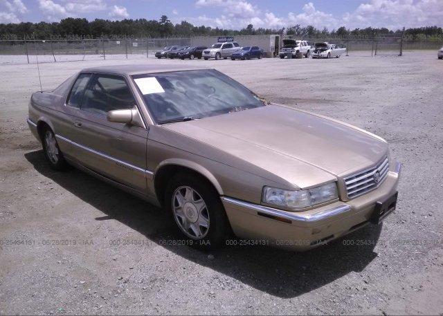 1g6el12y2xu610221 Bill Of Sale Gold Cadillac Eldorado At