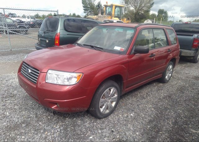 2008 Subaru FORESTER - JF1SG63688H704375