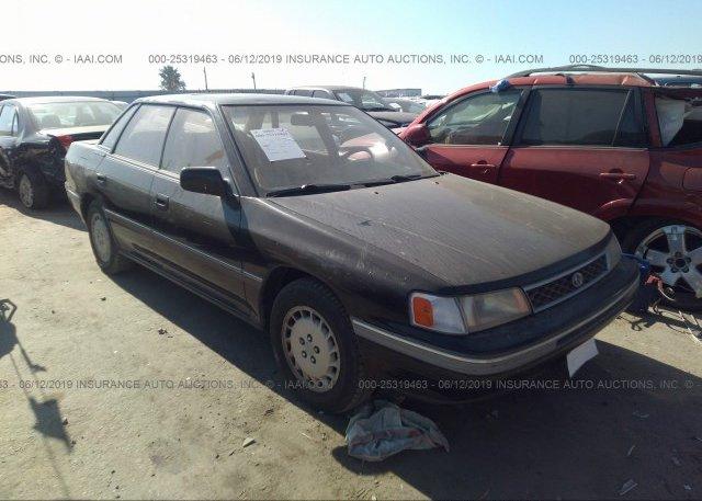 Inventory #382003758 1990 Subaru LEGACY