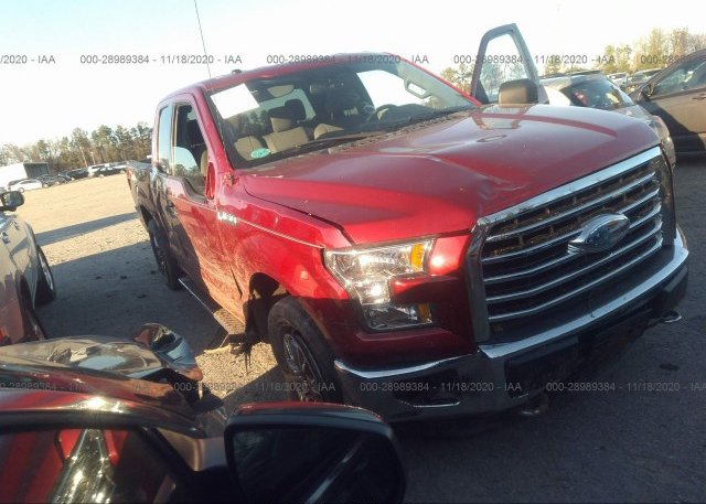 1FTEX1EP1GFD11635 2016 FORD F-150