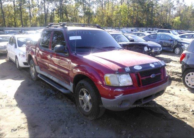 Inventory #899434588 2003 FORD EXPLORER SPORT TR