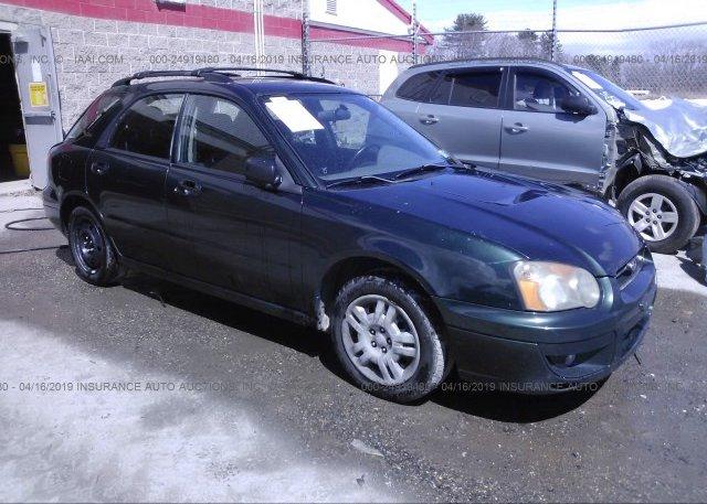 Inventory #548627230 2004 Subaru IMPREZA