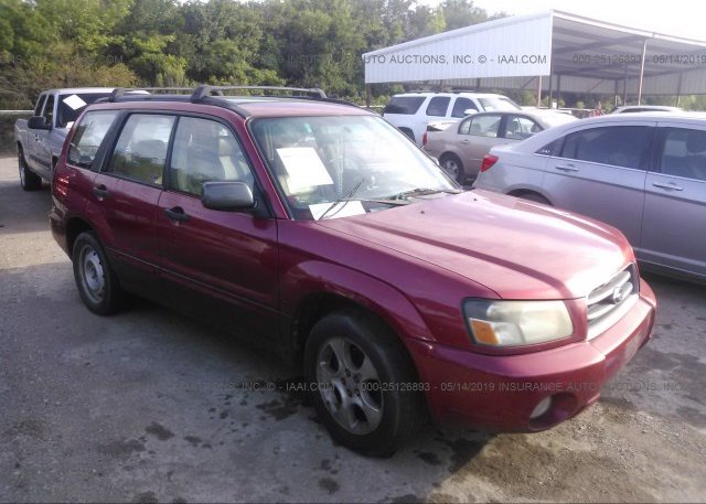 Inventory #376200609 2003 Subaru FORESTER