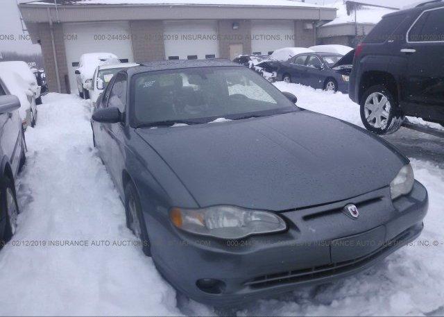 Inventory #625805300 2005 Chevrolet MONTE CARLO