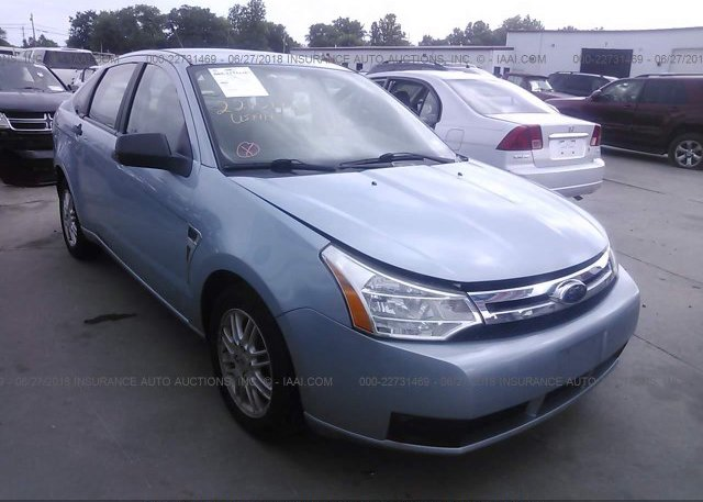 Inventory #726377355 2008 FORD FOCUS