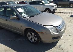 2008 Ford FUSION - 3FAHP07Z38R165870 Left View