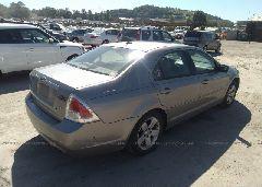 2008 Ford FUSION - 3FAHP07Z38R165870 rear view