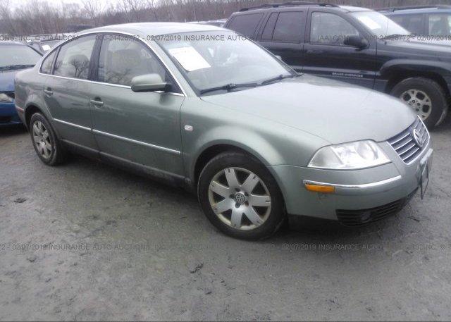 Inventory #600619108 2003 Volkswagen PASSAT