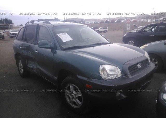 Inventory #880574624 2003 Hyundai SANTA FE