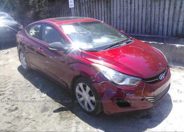 Inventory #691303447 2013 Hyundai ELANTRA