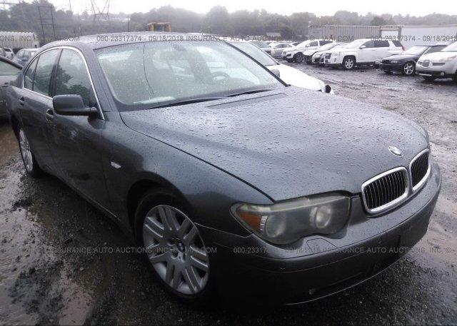 Inventory #562256802 2002 BMW 745