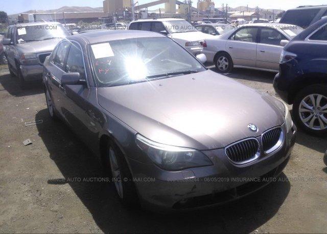 Inventory #573196830 2007 BMW 530