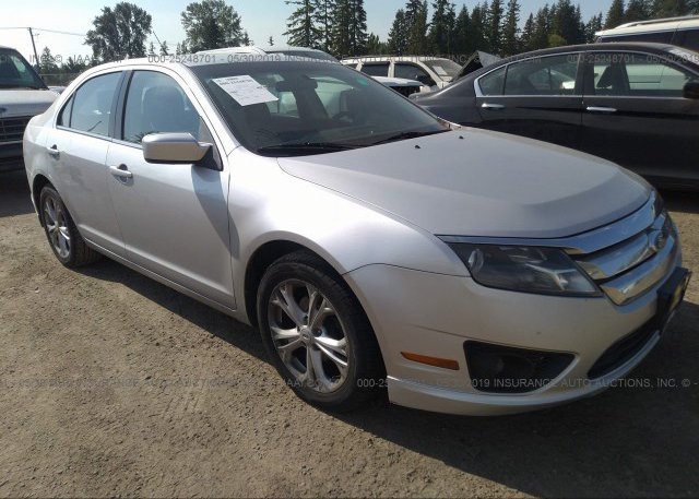 Inventory #994836177 2012 FORD FUSION