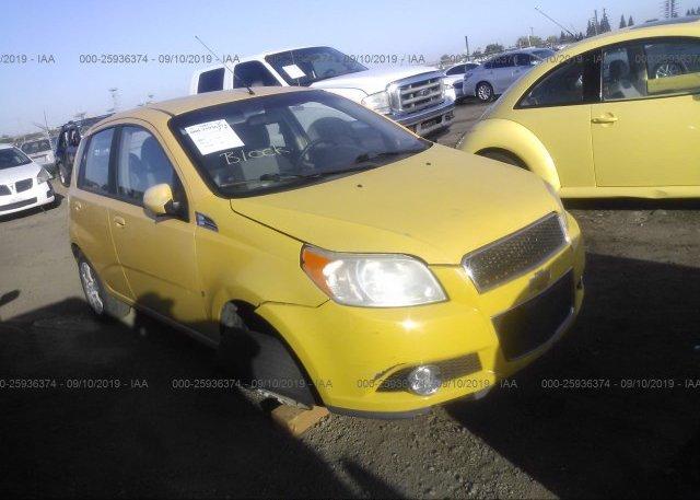 Inventory #334432800 2009 Chevrolet AVEO
