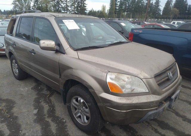 Inventory #875838915 2005 Honda PILOT