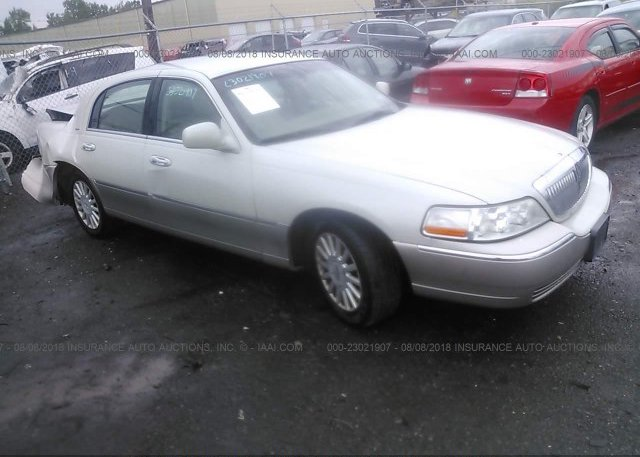 1lnhm81w65y605590 Mv 907a Cream Lincoln Town Car At Buffalo Ny On