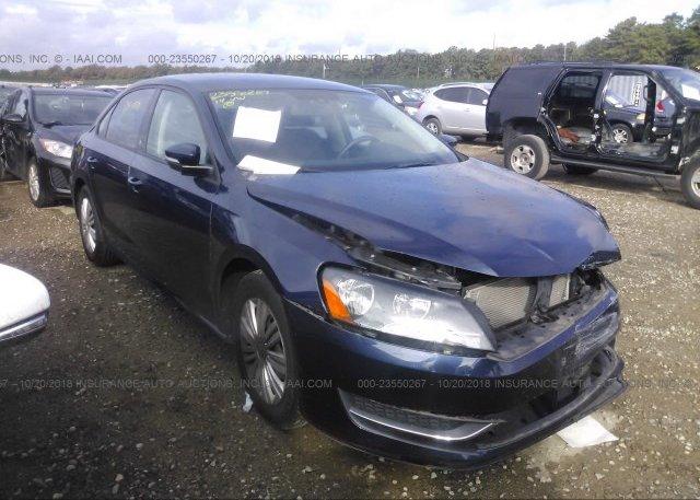 Inventory #503333850 2014 Volkswagen PASSAT