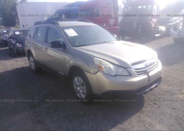 Inventory #108335142 2010 Subaru OUTBACK