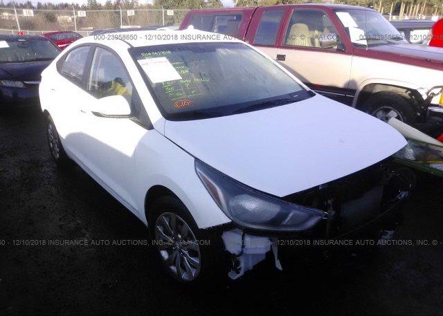 Inventory #592037929 2018 Hyundai ACCENT