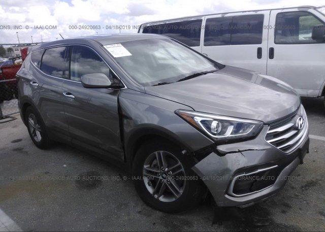 Inventory #987683244 2018 Hyundai SANTA FE SPORT
