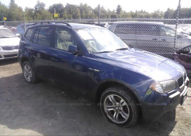 Inventory #211257067 2005 BMW X3