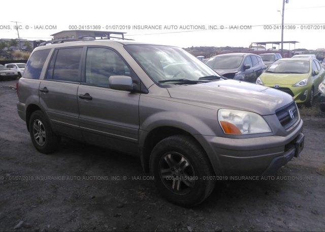 Inventory #574772075 2004 Honda PILOT