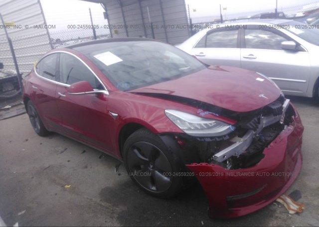 Inventory #838931027 2018 Tesla MODEL 3