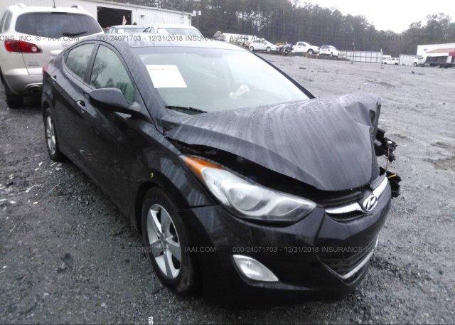 Inventory #507524453 2013 Hyundai ELANTRA