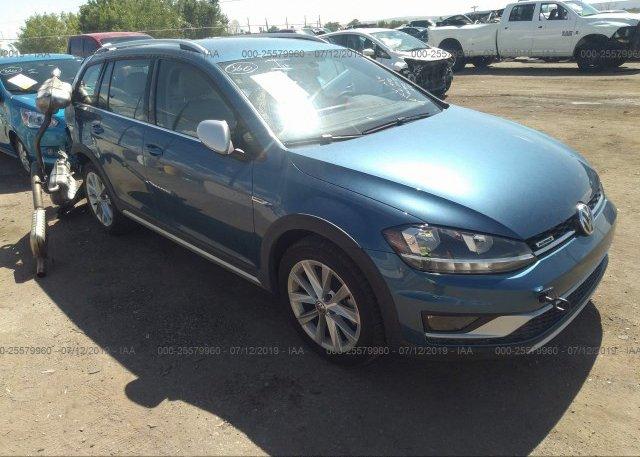 Inventory #824434707 2018 Volkswagen GOLF ALLTRACK