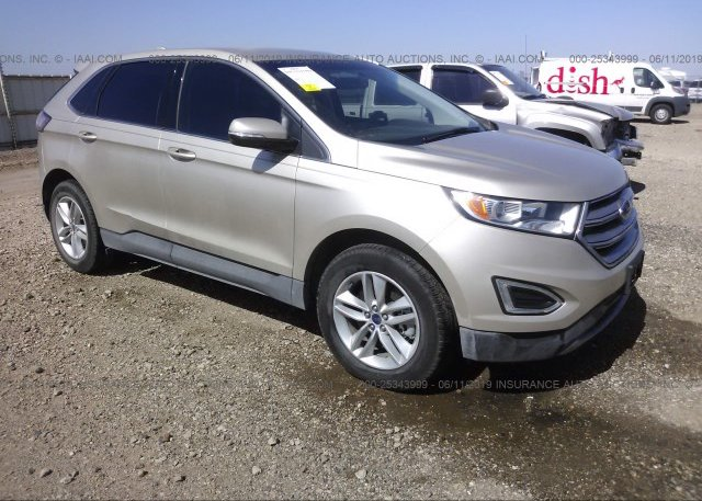 Inventory #758221093 2017 FORD EDGE