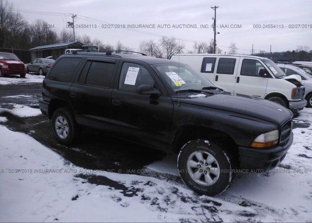 Inventory #395455895 2003 Dodge DURANGO