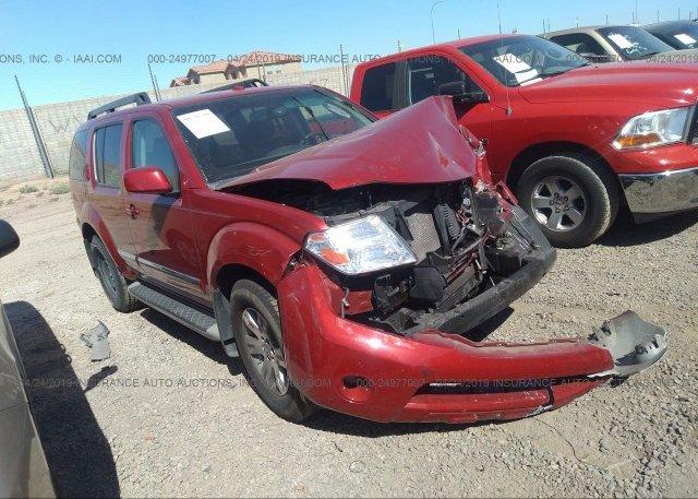 Inventory #927008057 2012 Nissan PATHFINDER