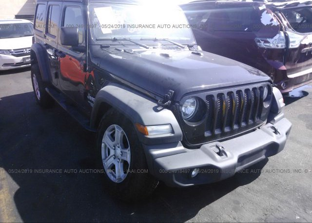 Inventory #672992079 2018 JEEP WRANGLER UNLIMITE
