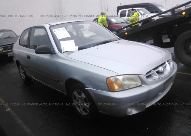 Inventory #567857785 2001 HYUNDAI ACCENT